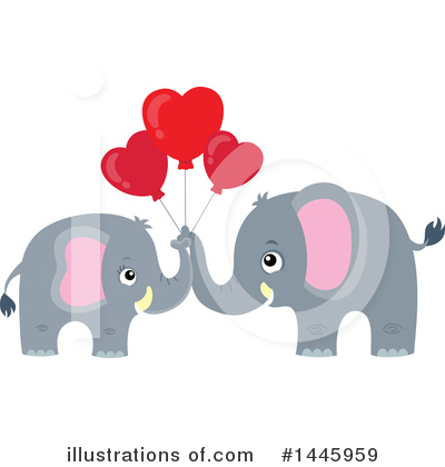 Elephant Clipart #1445959 by visekart