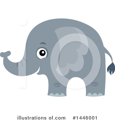 Elephant Clipart #1446001 by visekart