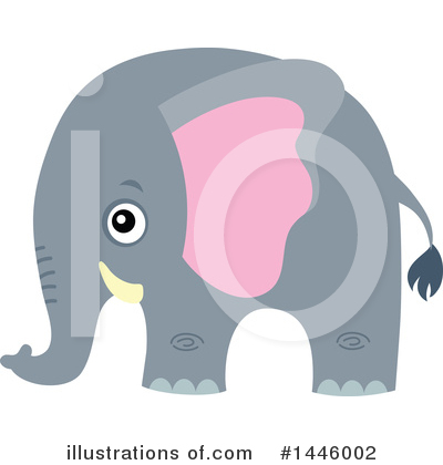 Elephant Clipart #1446002 by visekart