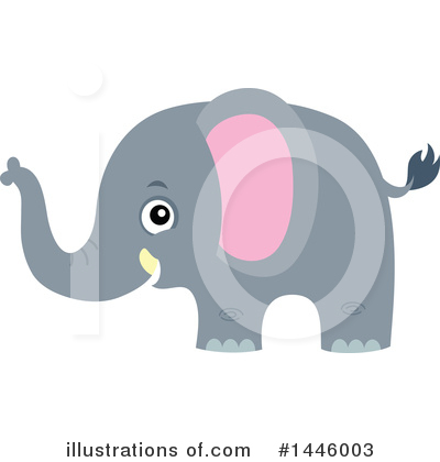 Elephant Clipart #1446003 by visekart