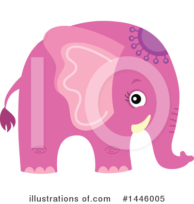 Elephant Clipart #1446005 by visekart
