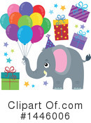 Elephant Clipart #1446006 by visekart