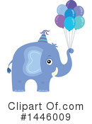Elephant Clipart #1446009 by visekart