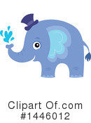 Elephant Clipart #1446012 by visekart