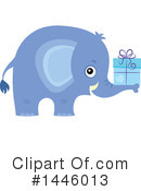 Elephant Clipart #1446013 by visekart