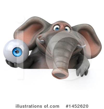 Elephant Clipart #1452620 by Julos