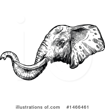 Elephant Clipart #1466461 by Vector Tradition SM