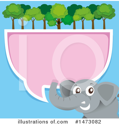 Elephant Clipart #1473082 by Graphics RF