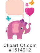 Elephant Clipart #1514912 by visekart
