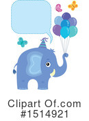 Elephant Clipart #1514921 by visekart