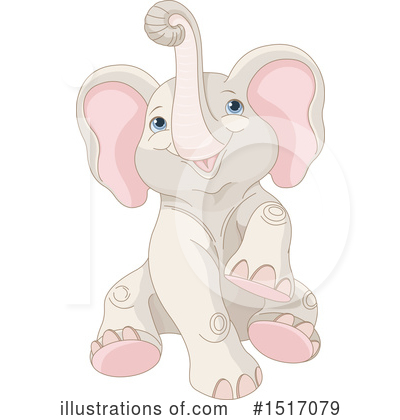 Elephant Clipart #1517079 by Pushkin