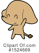 Elephant Clipart #1524669 by lineartestpilot