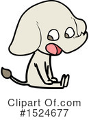 Elephant Clipart #1524677 by lineartestpilot