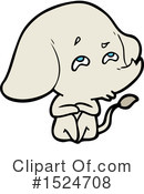 Elephant Clipart #1524708 by lineartestpilot