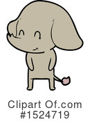 Elephant Clipart #1524719 by lineartestpilot