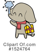 Elephant Clipart #1524764 by lineartestpilot