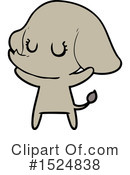 Elephant Clipart #1524838 by lineartestpilot