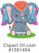 Elephant Clipart #1551404 by BNP Design Studio