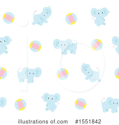 Elephant Clipart #1551842 by Cherie Reve