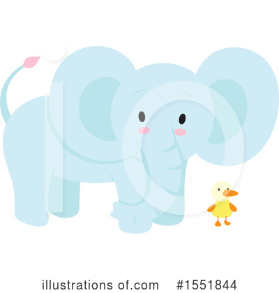 Elephant Clipart #1551844 by Cherie Reve