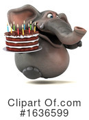 Elephant Clipart #1636599 by Julos