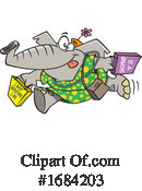 Elephant Clipart #1684203 by toonaday