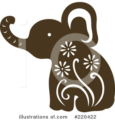 Elephant Clipart #220422 by Cherie Reve