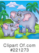 Elephant Clipart #221273 by visekart