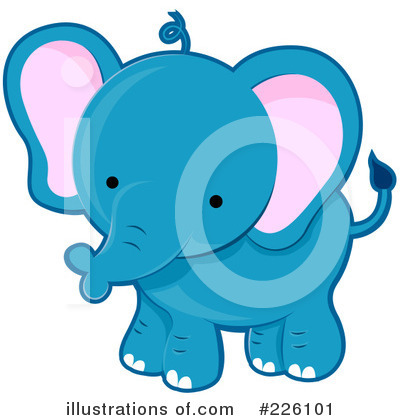 Elephant Clipart #226101 by BNP Design Studio