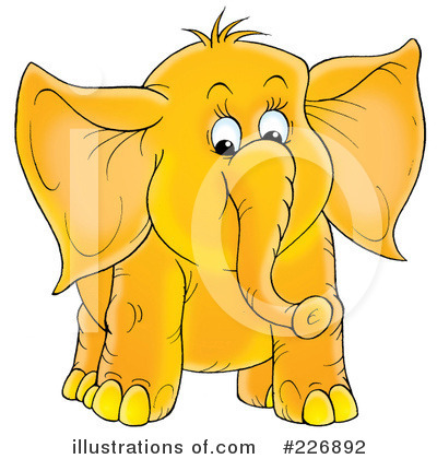 Elephant Clipart #226892 by Alex Bannykh