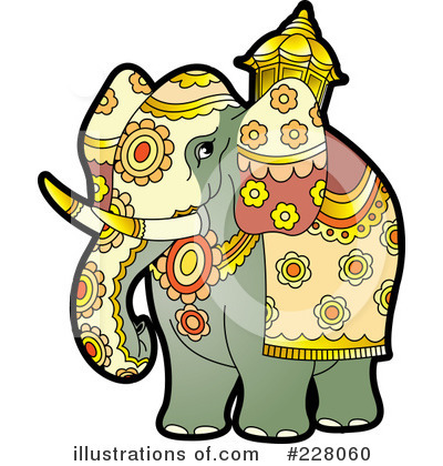 Elephant Clipart #228060 by Lal Perera