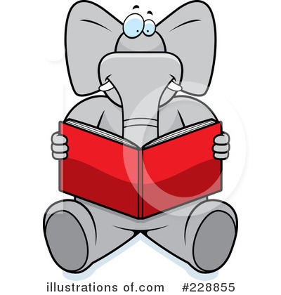Elephant Clipart #228855 by Cory Thoman