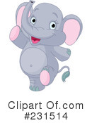 Elephant Clipart #231514 by Pushkin