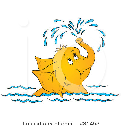 Swimming Clipart #31453 by Alex Bannykh