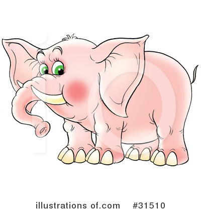 Elephant Clipart #31510 by Alex Bannykh