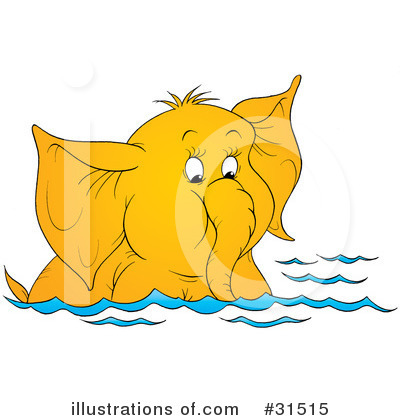 Swimming Clipart #31515 by Alex Bannykh