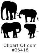 Elephant Clipart #36418 by dero