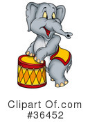 Elephant Clipart #36452 by dero