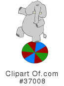 Elephant Clipart #37008 by djart