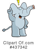 Elephant Clipart #437342 by Cory Thoman