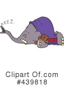 Elephant Clipart #439818 by toonaday