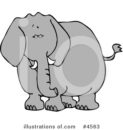 Elephant Clipart #4563 by djart
