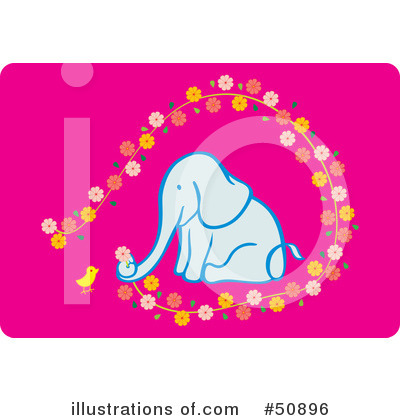 Elephant Clipart #50896 by Cherie Reve