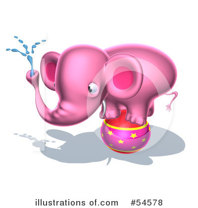 Elephant Clipart #54578 by Julos