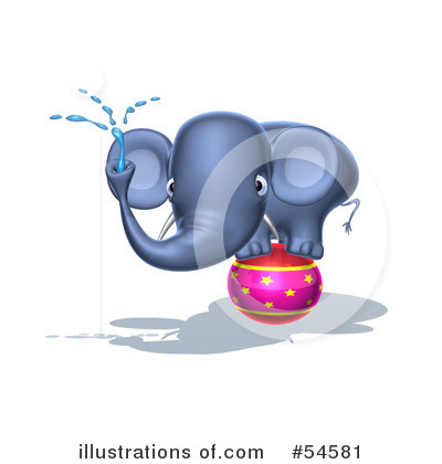 Elephant Clipart #54581 by Julos