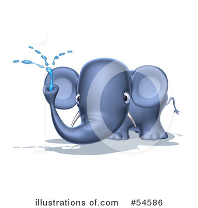 Elephant Clipart #54586 by Julos
