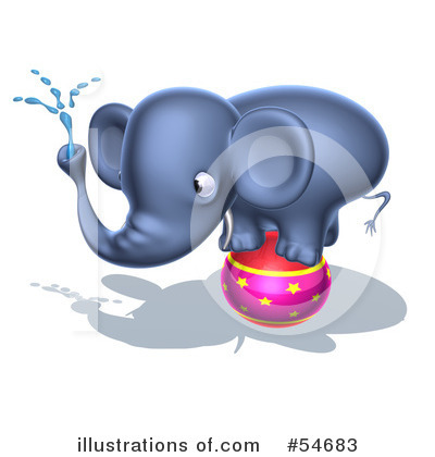 Elephant Clipart #54683 by Julos