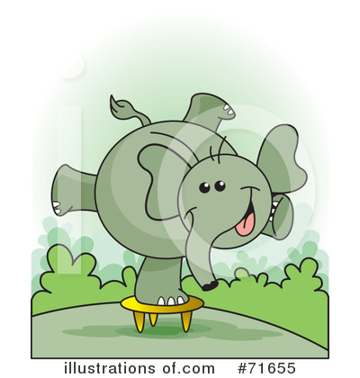 Elephant Clipart #71655 by Lal Perera