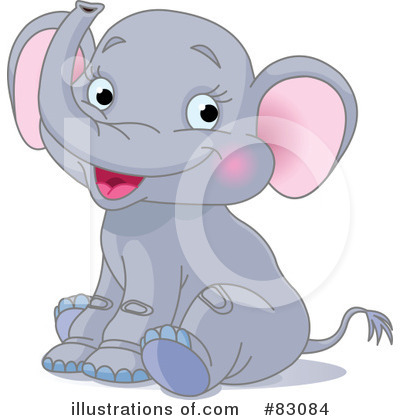Elephant Clipart #83084 by Pushkin