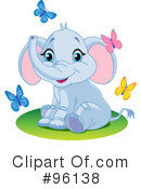 Elephant Clipart #96138 by Pushkin